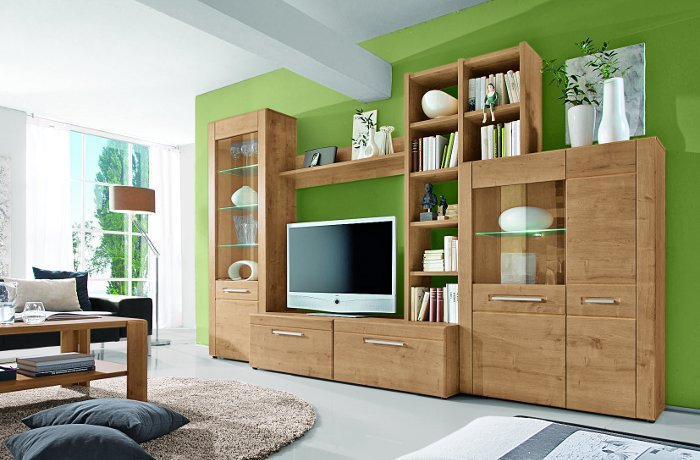 Eiche Wohnwand Sammlung : Wohnzimmer möbel kommode wohnwand bei uns kaufen