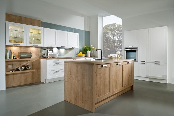 Moderne landhausküche  Landhaus Küchen - Stilvolle Küchenzeilen für Ihr Zuhause