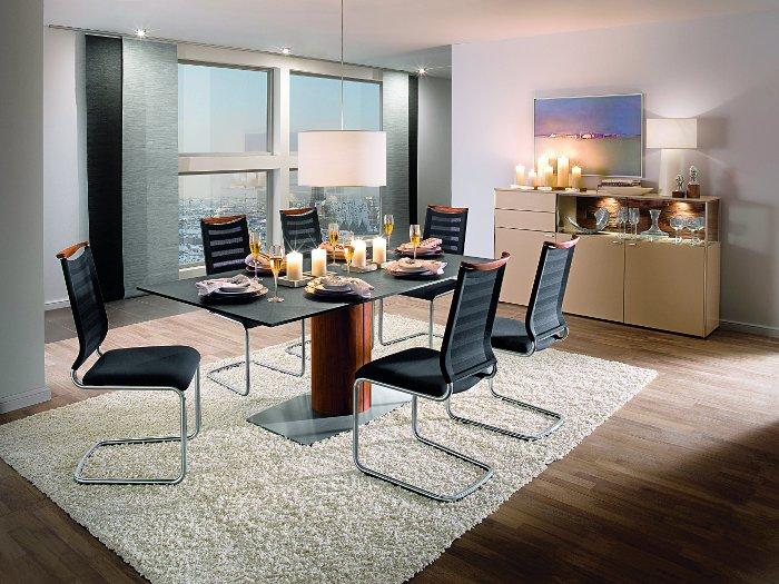 Esstisch mit Stühlen oder das komplette Speisezimmer